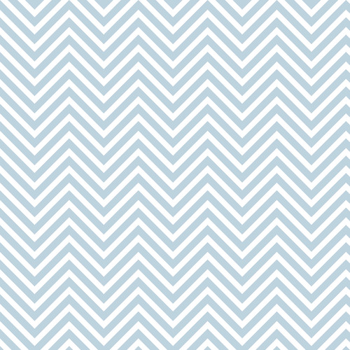 Westcott Classic Chevron Art Canvas Backdrop with Hook-and-Loop Attachment (3.5 x 3.5', Light Blue)