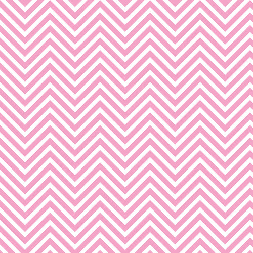 Westcott Classic Chevron Art Canvas Backdrop with Hook-and-Loop Attachment (3.5 x 3.5', Light Pink)