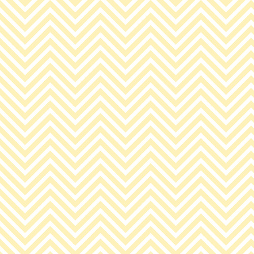 Westcott Classic Chevron Matte Vinyl Backdrop with Hook-and-Loop Attachment (3.5 x 3.5', Light Yellow)