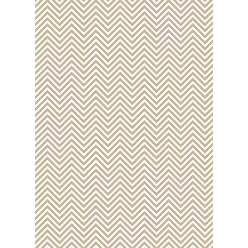 Westcott Classic Chevron Art Canvas Backdrop with Grommets (5 x 7', Light Brown)