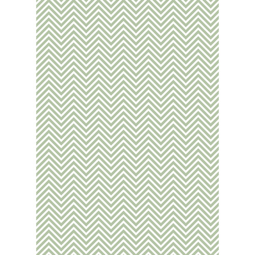 Westcott Classic Chevron Art Canvas Backdrop with Grommets (5 x 7', Light Green)