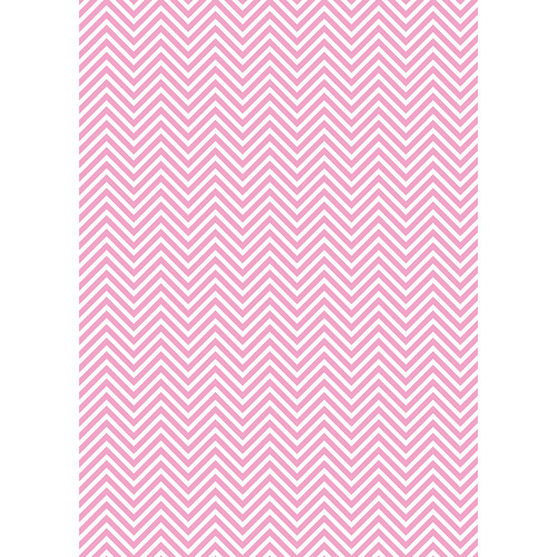 Westcott Classic Chevron Art Canvas Backdrop with Grommets (5 x 7', Light Pink)