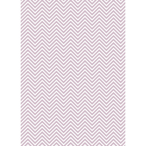 Westcott Classic Chevron Matte Vinyl Backdrop with Grommets (5 x 7', Light Purple)