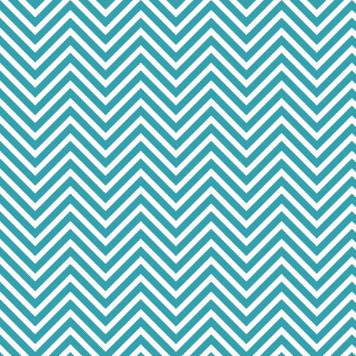 Westcott Classic Chevron Art Canvas Backdrop with Hook-and-Loop Attachment (3.5 x 3.5', Bold Turquoise)