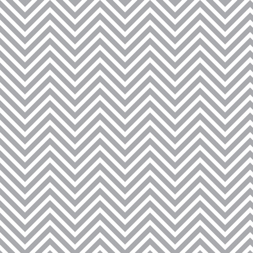 Westcott Classic Chevron Art Canvas Backdrop with Hook-and-Loop Attachment (3.5 x 3.5', Bold Gray)