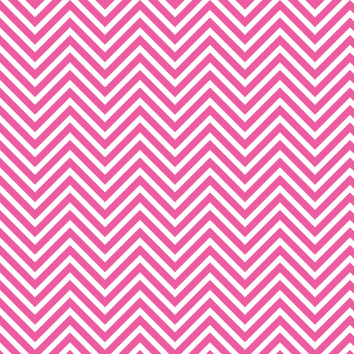 Westcott Classic Chevron Art Canvas Backdrop with Hook-and-Loop Attachment (3.5 x 3.5', Bold Pink)