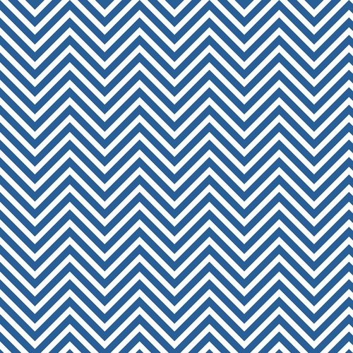 Westcott Classic Chevron Matte Vinyl Backdrop with Hook-and-Loop Attachment (3.5 x 3.5', Bold Blue)