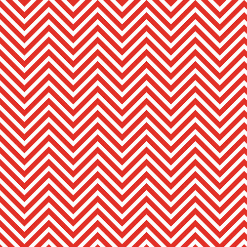 Westcott Classic Chevron Matte Vinyl Backdrop with Hook-and-Loop Attachment (3.5 x 3.5', Bold Red)
