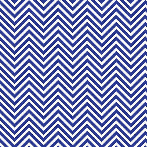 Westcott Classic Chevron Art Canvas Backdrop with Hook-and-Loop Attachment (3.5 x 3.5', Rich Blue)