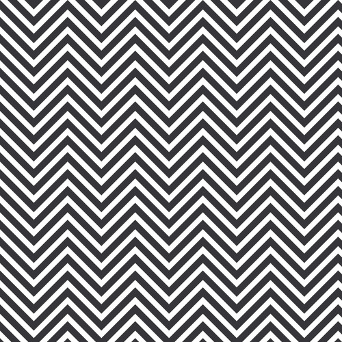 Westcott Classic Chevron Art Canvas Backdrop with Hook-and-Loop Attachment (3.5 x 3.5', Rich Gray)