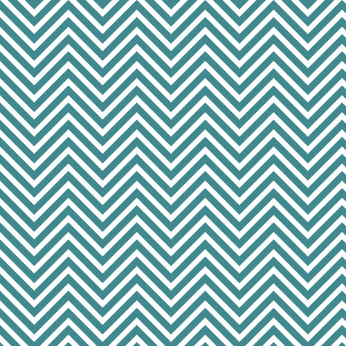 Westcott Classic Chevron Matte Vinyl Backdrop with Hook-and-Loop Attachment (3.5 x 3.5', Rich Turquoise)