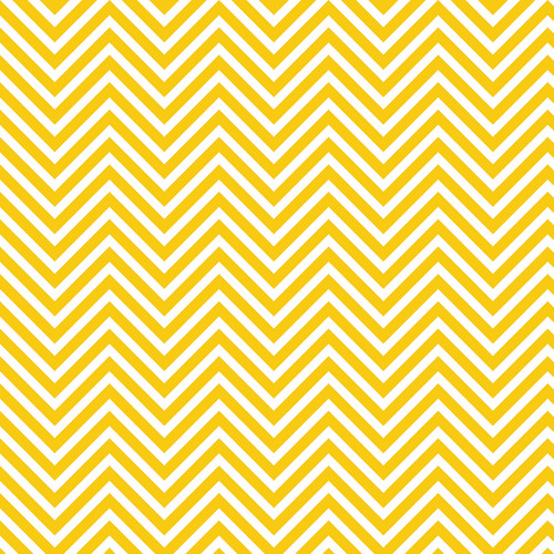 Westcott Classic Chevron Matte Vinyl Backdrop with Hook-and-Loop Attachment (3.5 x 3.5', Rich Yellow)