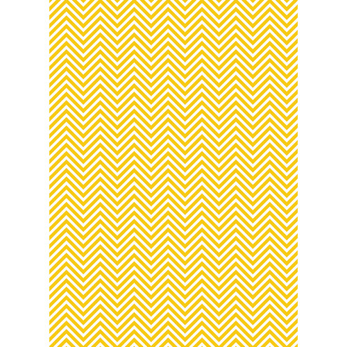 Westcott Classic Chevron Art Canvas Backdrop with Grommets (5 x 7', Rich Yellow)