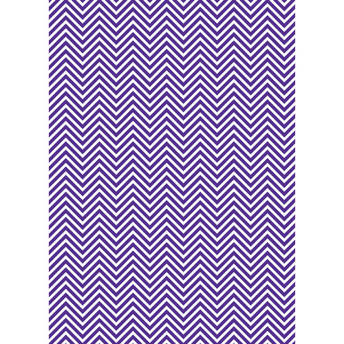 Westcott Classic Chevron Matte Vinyl Backdrop with Grommets (5 x 7', Rich Purple)