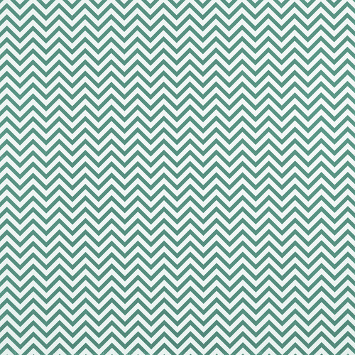 Westcott Narrow Chevron Art Canvas Backdrop with Hook-and-Loop Attachment (3.5 x 3.5', Turquoise)