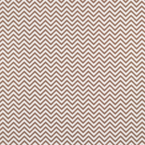 Westcott Narrow Chevron Art Canvas Backdrop with Hook-and-Loop Attachment (3.5 x 3.5', Brown)