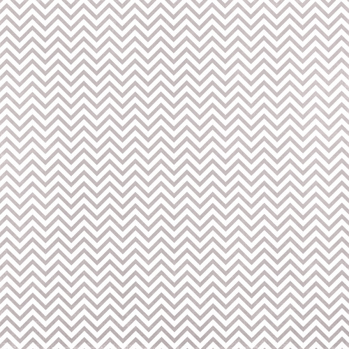 Westcott Narrow Chevron Art Canvas Backdrop with Hook-and-Loop Attachment (3.5 x 3.5', Gray)