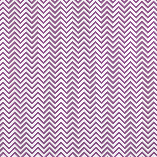 Westcott Narrow Chevron Art Canvas Backdrop with Hook-and-Loop Attachment (3.5 x 3.5', Plum)