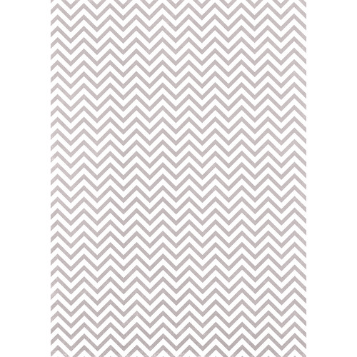 Westcott Narrow Chevron Art Canvas Backdrop with Grommets (5 x 7', Gray)