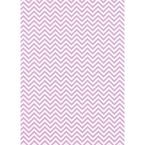 Westcott Narrow Chevron Art Canvas Backdrop with Grommets (5 x 7', Pink)