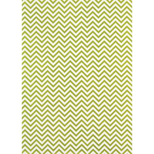 Westcott Narrow Chevron Matte Vinyl Backdrop with Grommets (5 x 7', Yellow)