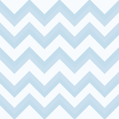 Westcott Wide Chevron Art Canvas Backdrop with Hook-and-Loop Attachment (3.5 x 3.5', Blue)