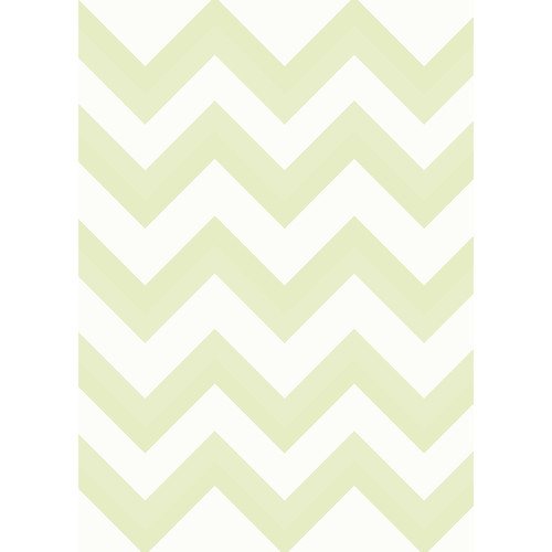 Westcott Wide Chevron Art Canvas Backdrop with Grommets (5 x 7', Yellow)