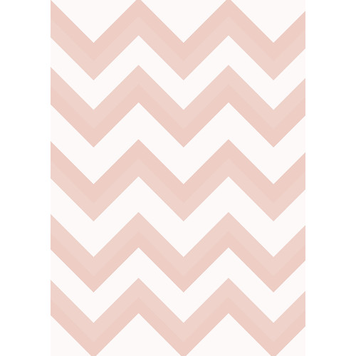 Westcott Wide Chevron Matte Vinyl Backdrop with Grommets (5 x 7', Orange)