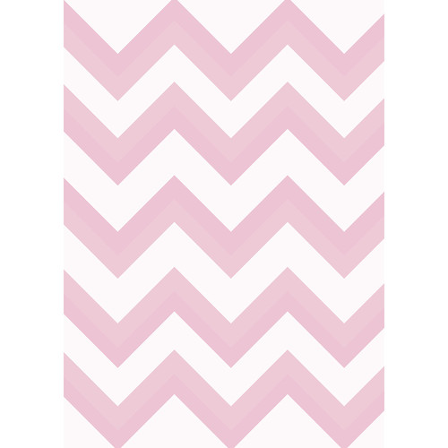 Westcott Wide Chevron Matte Vinyl Backdrop with Grommets (5 x 7', Red)