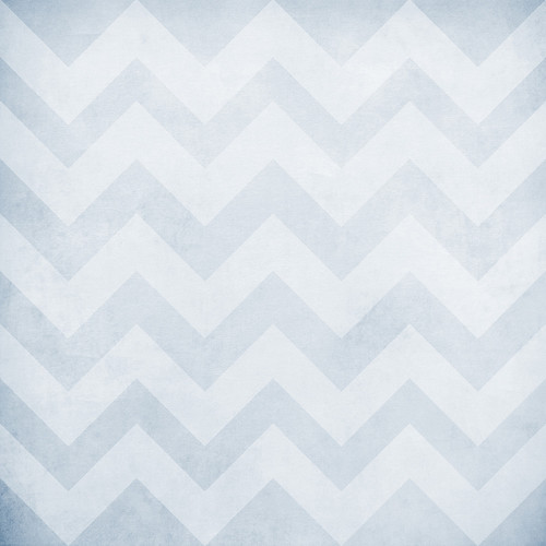 Westcott Washed Chevron Art Canvas Backdrop with Hook-and-Loop Attachment (3.5 x 3.5', Light Blue)