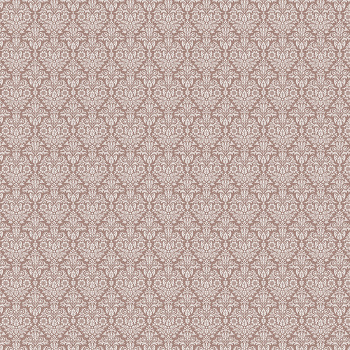 Westcott Classic Damask Art Canvas Backdrop with Hook-and-Loop Attachment (3.5 x 3.5', Brown)