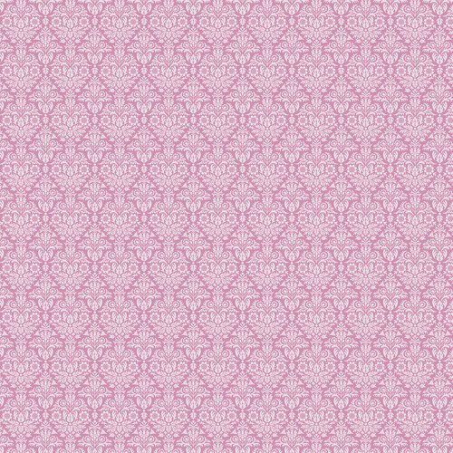 Westcott Classic Damask Matte Vinyl Backdrop with Hook-and-Loop Attachment (3.5 x 3.5', Pink)