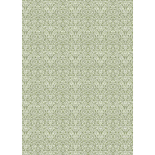 Westcott Classic Damask Matte Vinyl Backdrop with Grommets (5 x 7', Yellow)