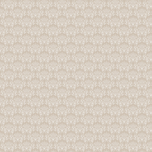 Westcott Elegant Damask Art Canvas Backdrop with Hook-and-Loop Attachment (3.5 x 3.5', Brown)