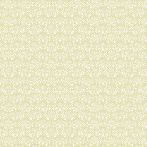 Westcott Elegant Damask Art Canvas Backdrop with Hook-and-Loop Attachment (3.5 x 3.5', Yellow)