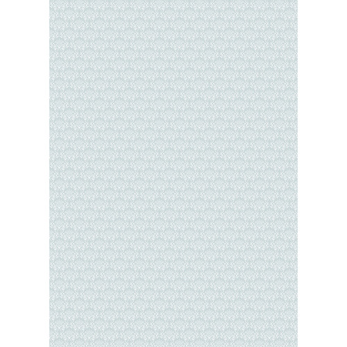 Westcott Elegant Damask Art Canvas Backdrop with Grommets (5 x 7', Gray)