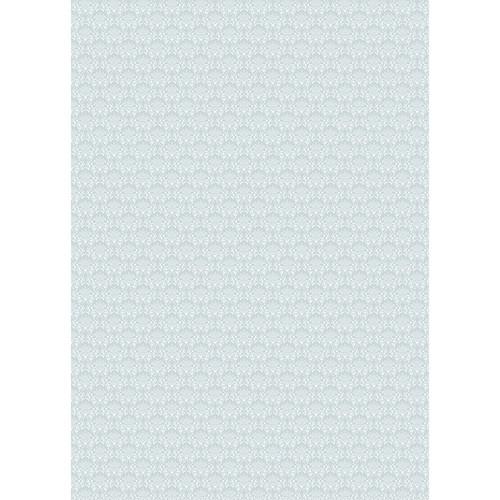 Westcott Elegant Damask Matte Vinyl Backdrop with Grommets (5 x 7', Gray)