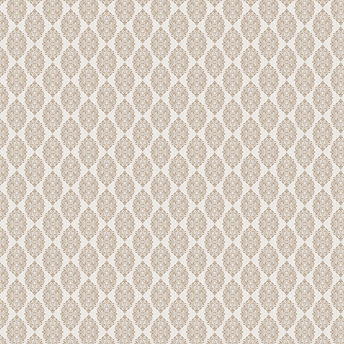 Westcott Modern Damask Art Canvas Backdrop with Hook-and-Loop Attachment (3.5 x 3.5', Light Tan)