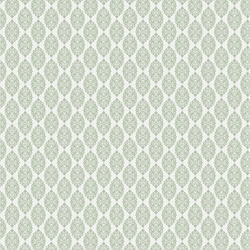 Westcott Modern Damask Matte Vinyl Backdrop with Hook-and-Loop Attachment (3.5 x 3.5', Light Sage)