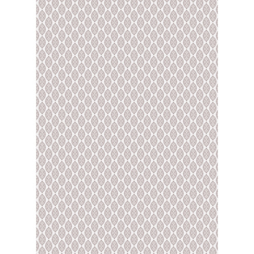 Westcott Modern Damask Art Canvas Backdrop with Grommets (5 x 7', Light Brown)