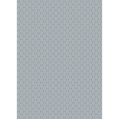 Westcott Modern Damask Art Canvas Backdrop with Grommets (5 x 7', Vintage Gray)