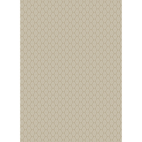 Westcott Modern Damask Art Canvas Backdrop with Grommets (5 x 7', Vintage Tan)