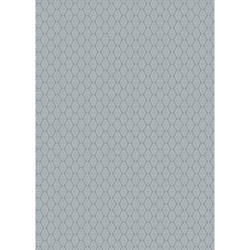 Westcott Modern Damask Matte Vinyl Backdrop with Grommets (5 x 7', Vintage Gray)