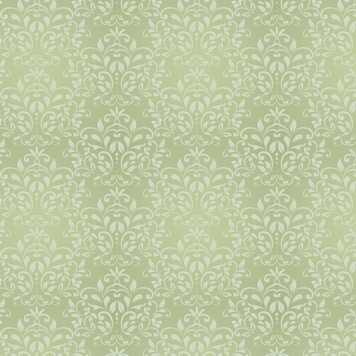 Westcott Leafy Damask Art Canvas Backdrop with Hook-and-Loop Attachment (3.5 x 3.5', Yellow)