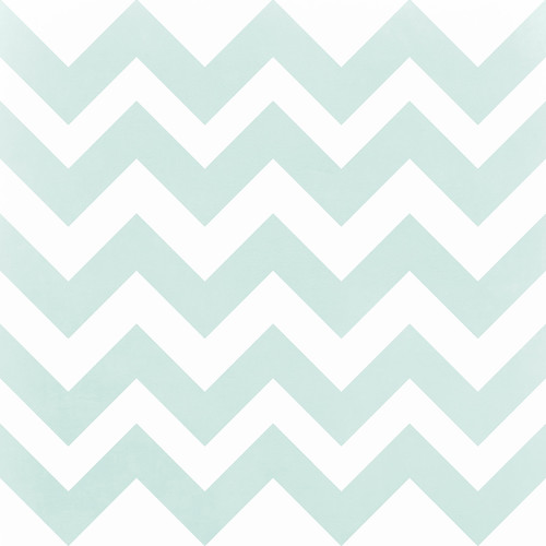 Westcott Pastel Chevron Art Canvas Backdrop with Hook-and-Loop Attachment (3.5 x 3.5', Turquoise)
