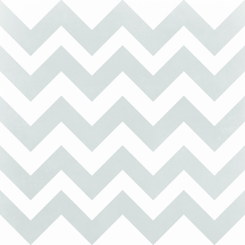 Westcott Pastel Chevron Art Canvas Backdrop with Hook-and-Loop Attachment (3.5 x 3.5', Gray)