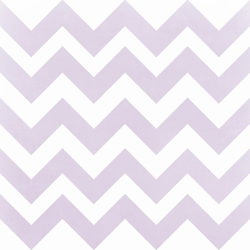 Westcott Pastel Chevron Art Canvas Backdrop with Hook-and-Loop Attachment (3.5 x 3.5', Purple)