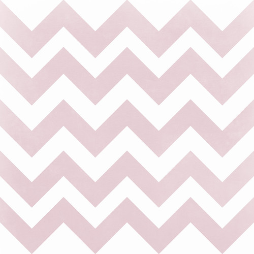 Westcott Pastel Chevron Art Canvas Backdrop with Hook-and-Loop Attachment (3.5 x 3.5', Red)