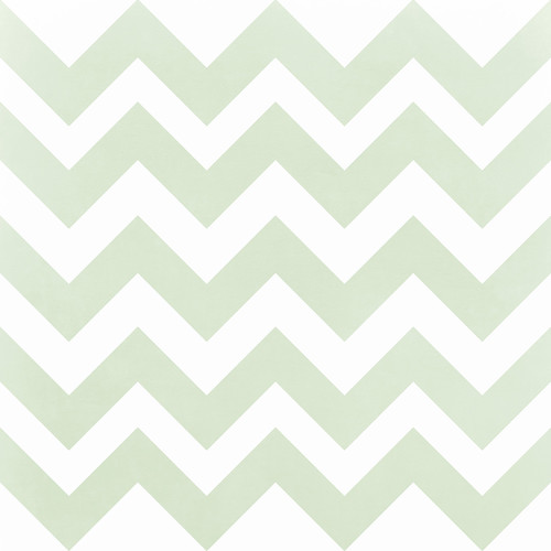 Westcott Pastel Chevron Matte Vinyl Backdrop with Hook-and-Loop Attachment (3.5 x 3.5', Green)