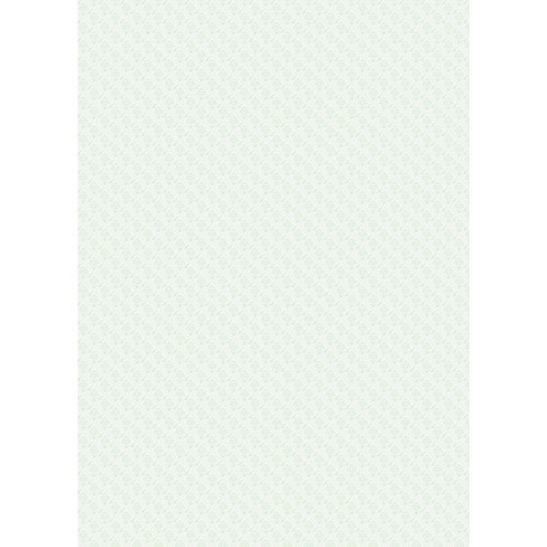 Westcott Vintage Damask Matte Vinyl Backdrop with Grommets (5 x 7', Green)